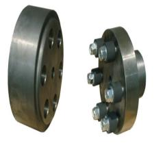 Brake drums to standard DIN 15431 with rubber-elements coupling