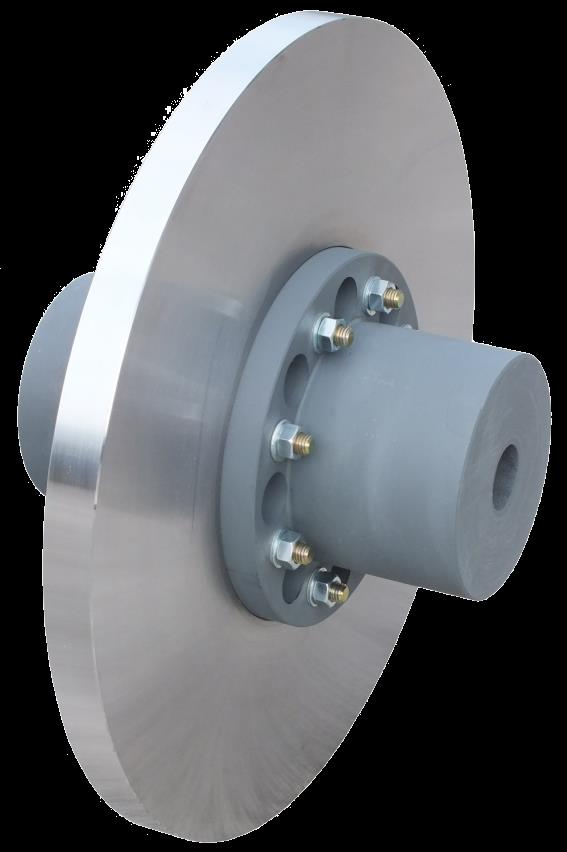 Disc with coupling type EP